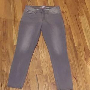 Levi's Denizen Modern Ankle Skinny gray sz 6 jeans